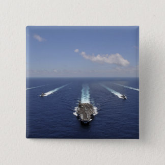 The aircraft carrier USS Abraham Lincoln Button