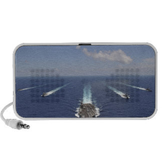 The aircraft carrier USS Abraham Lincoln Mp3 Speakers