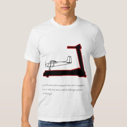 The Airplane on a treadmill... Tee Shirt