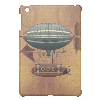 The Airship Aleutian Steampunk Flying Machine iPad Mini Cases