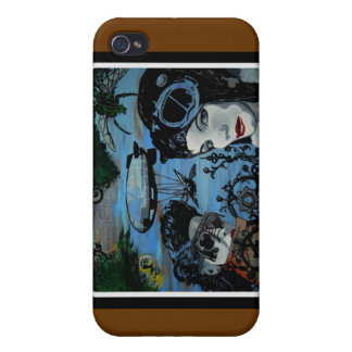 'the Airship Captain Forms a Plan' 3G Cellphone Sp iPhone 4/4S Cases