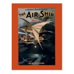 The Airship Postcard