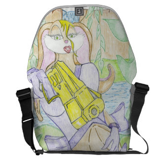 The Ajaini Modeling Messenger Bag