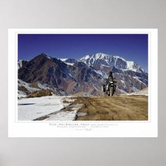 The Ak-Baital Pass Print