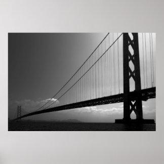THE AKASHI KAIKYO SUPER BRIDGE POSTER