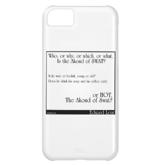 The Akond of Swat 2 iPhone 5C Cover