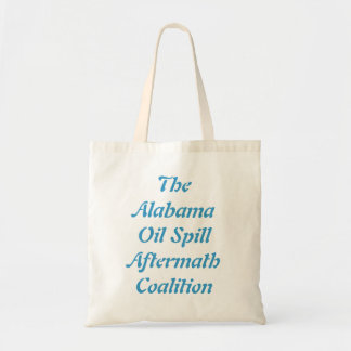 The Alabama Oil Spill Aftermath Coalition LTD.Tote Canvas Bags
