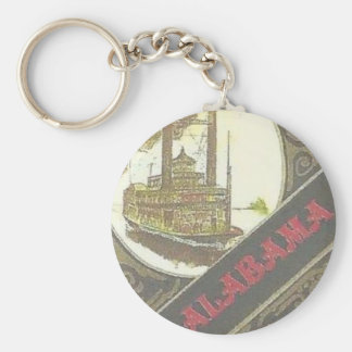 THE ALABAMA RIVERBOAT LUCKY for the GAMBLER !. Keychain