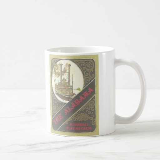 THE ALABAMA RIVERBOAT LUCKY GAMBLER ! COFFEE MUG