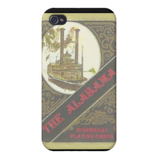 THE ALABAMA RIVERBOAT LUCKY GAMBLER ! iPhone 4 CASE