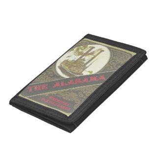 The Alabama Tri-Fold Nylon Wallet