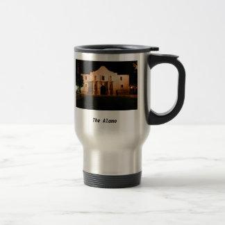 The Alamo 15 Oz Stainless Steel Travel Mug