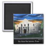 The Alamo 2 Inch Square Magnet
