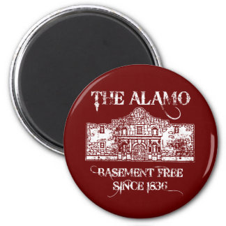 The Alamo Basement 2 Inch Round Magnet