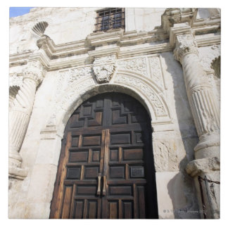 The Alamo in San Antonio, Texas Tile