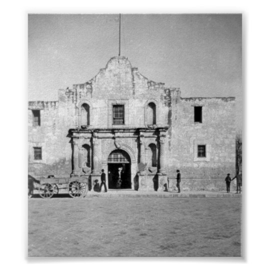 The Alamo in San Antonio, TX  1 Poster