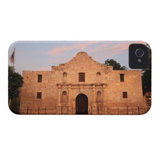 The Alamo Mission in modern day San Antonio, 2 iPhone 4 Case-Mate Case