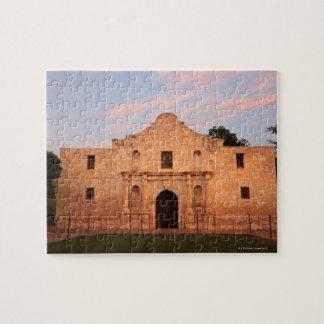 The Alamo Mission in modern day San Antonio, 2 Jigsaw Puzzle
