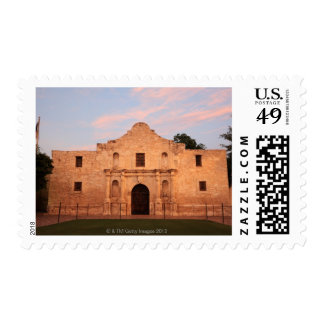 The Alamo Mission in modern day San Antonio, 2 Postage