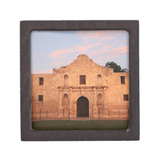 The Alamo Mission in modern day San Antonio, 2 Premium Trinket Box