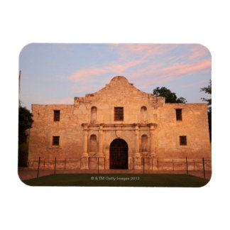 The Alamo Mission in modern day San Antonio 2 Vinyl Magnet
