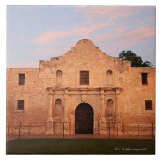 The Alamo Mission in modern day San Antonio, 2 Tile