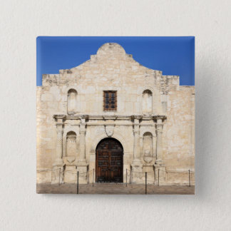 The Alamo Mission in modern day San Antonio, 3 Button