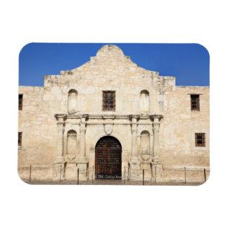 The Alamo Mission in modern day San Antonio, 3 Rectangular Photo Magnet