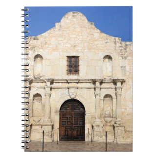 The Alamo Mission in modern day San Antonio, 3 Spiral Notebooks