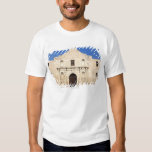 The Alamo Mission in modern day San Antonio, 3 T-shirts