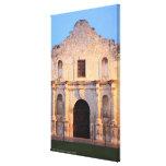 The Alamo Mission in modern day San Antonio, Canvas Print