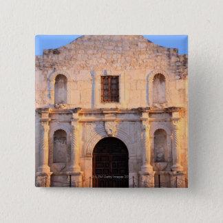 The Alamo Mission in modern day San Antonio, Pinback Button