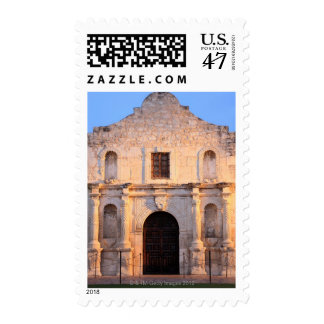 The Alamo Mission in modern day San Antonio, Postage