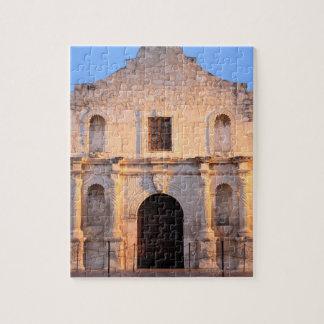 The Alamo Mission in modern day San Antonio, Jigsaw Puzzle
