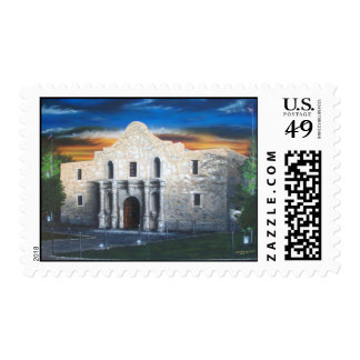 The Alamo Postage