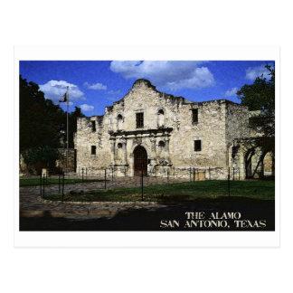 The Alamo Postcard Post Card