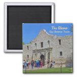 The Alamo San Antonio Texas 2 Inch Square Magnet