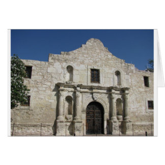 The Alamo, San Antonio Texas Card