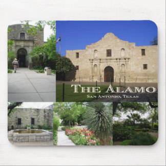 The Alamo, San Antonio, Texas Mouse Pad