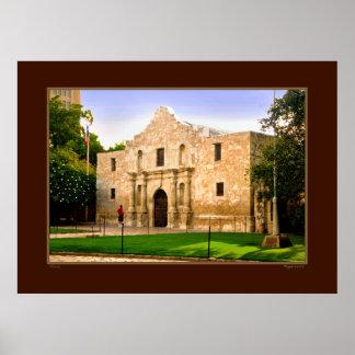 The Alamo - San Antonio Texas Print