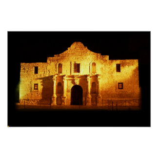 The Alamo, San Antonio, Texas Poster