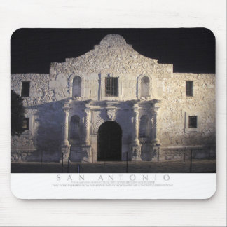 The Alamo, San Antonio, TX Mouse Pad