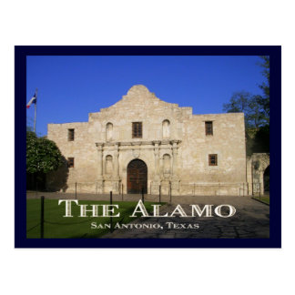 The Alamo, San Antonio, TX. Postcard