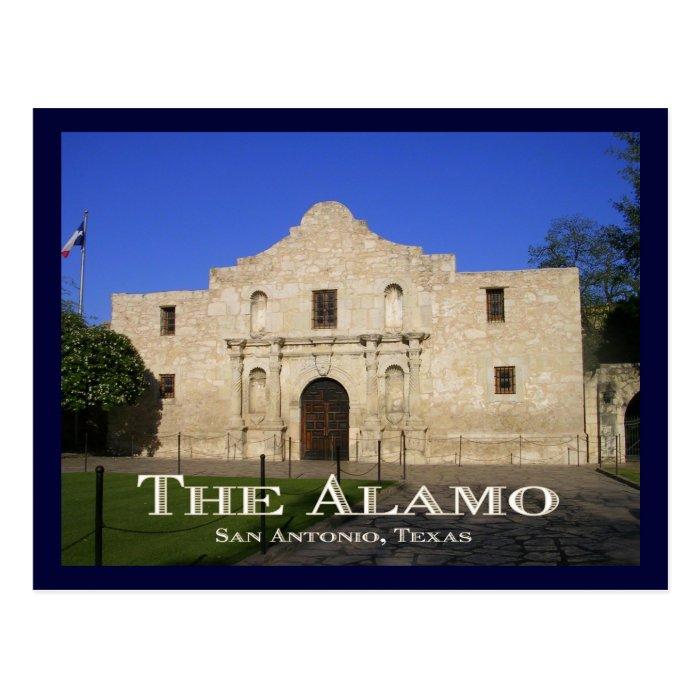 The Alamo, San Antonio, TX. Postcard