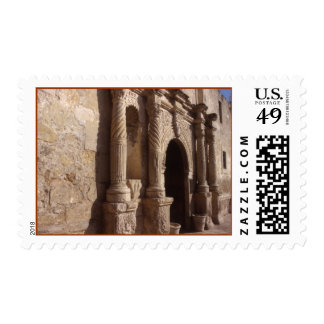 The ALAMO-Shrine Of Texas Stamp