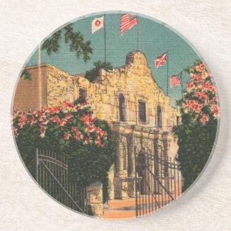 The Alamo Vintage Texas Coasters