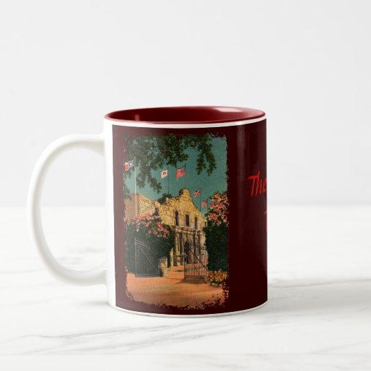 The Alamo Vintage Texas Coffee Mug