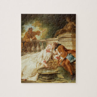 The Alarm, 1723 (oil on canvas) Jigsaw Puzzle