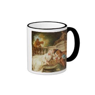 The Alarm, 1723 (oil on canvas) Coffee Mugs