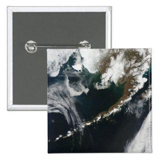 The Alaskan Peninsula and Aleutian Islands 2 Inch Square Button